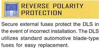 dls reverse polarity protection