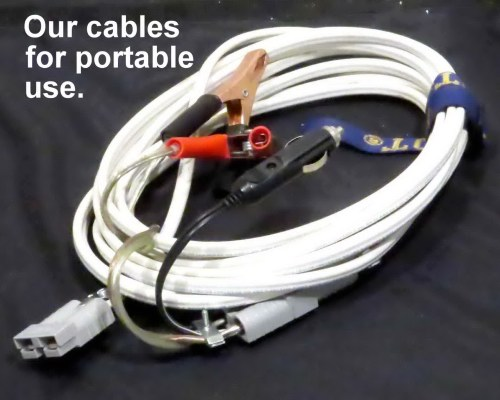 thin-lite vfi extension cable and adapters