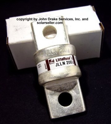 200 amp class t fuse littel fuse plated