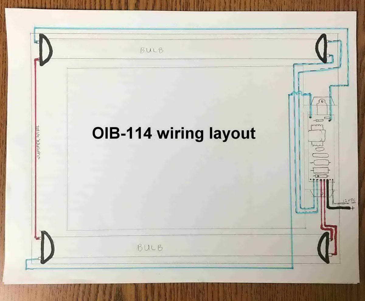 thin-lite 114 ballast wiring layout